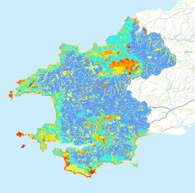 Biodiversity assessment for Pembrokeshire